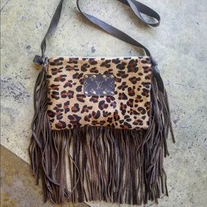 ONE OF A KIND Upcycled Louis Vuitton Crossbody